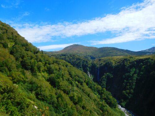 称名川と不動滝