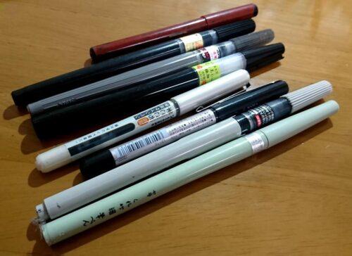 筆ペン各種