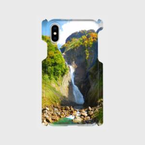 「称名滝」絶景スマホケース