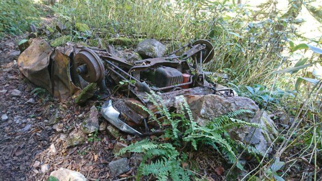 焼岳事故車