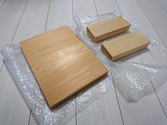 書道家のこだわり表札用木曽檜板