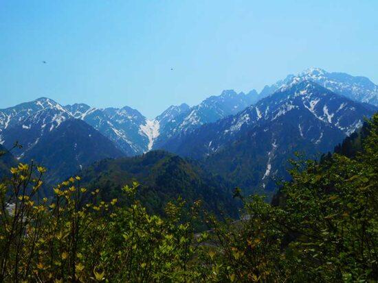 富山の低山 中山登山 剱岳 富山の書道家藤井碧峰